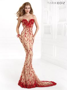 Tarik Ediz mermaid dress 92394