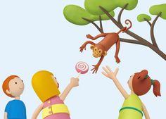 """""""Mili va al zoo"""" - Ilustración en plastilina by Ana Villalba (02)."""