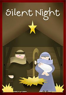 """The Silent Night Memory Gameis a great way to talk to your """"littles"""" aboutthe TRUE MEANING of Christmas.I was able to use mine for a Primary Sharing Time.When they got the match...I had the child read the Story Card  that goes with that picture."""