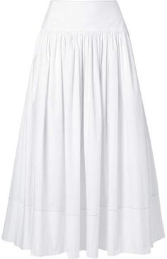 1fd6292545 Elizabeth and James - Shirley cotton-blend poplin maxi skirt