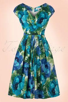 Emily and Fin Ada Dress Poppy Flowers 102 59 18310 20160804 0003W