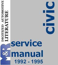 2000 honda civic service manual pdf