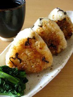 長芋と塩昆布の焼きおにぎり by yaburie 【クックパッド】 簡単おいしいみんなのレシピが278万品