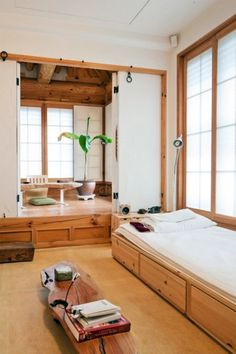 Japanese style bedroom and.... office or spiritual sanctuary