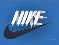 NIKE Laces #graphic #design