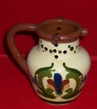 Vintage Torquay Motto Ware Puzzle Jug Or Pitcher Signed #6