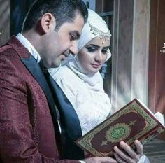 What if we marry without flowers and fancy food.. we'll marry with Al Quran in our hand and that's it..? A simple walimah maybe.. ❤