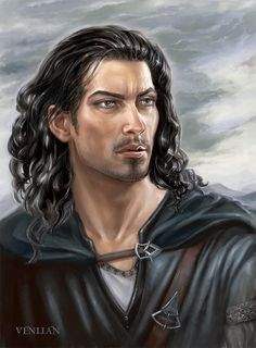 Explore the Humain divers collection - the favourite images chosen by altorNarthan on DeviantArt. Fantasy Art Men, Fantasy Rpg, Character Portraits, Character Art, Character Ideas, Saga Art, Wolf, Male Face, Fantasy Characters