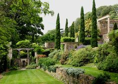 Yet another view of the Italianate garden at Iford Manor created by Harold Peto for himself.