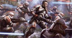 The Trooper Evolution Star Wars 1313, Star Wars Clone Wars, Sith Warrior, Fantasy Star, Star Wars The Old, Star Wars Facts, Galactic Republic, Star Wars Concept Art, Star Wars Light Saber