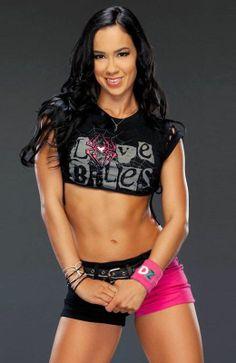 WWE Diva AJ Lee #wwe