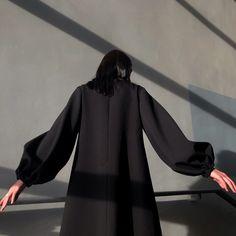 #роршах #аппликациянаодежде #черноеплатье  #объемныерукава #totalblack #applique #appliquedesigns #blackdress #russiandesigner #dresswithapplique Photo And Video, Instagram
