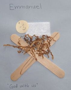 Preschool+Christmas+Crafts+Jesus | easy baby jesus craft | Preschool Christmas Ideas