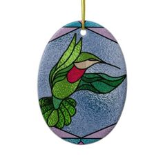 Faux Stained Glass Everyday Ornament