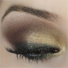 Passo a passo maquiagem dourada e marrom inspirada na Mila Kunis - Tudo Make – Maior blog de maquiagem, beleza e tutoriais de Curitiba.