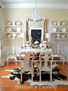 love cottage style dining