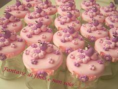 Fantasie di fimo e non solo - Barattoli decorati a mano con fimo Pink Birthday, Pasta Flexible, Diy Clay, Clay Art, Biscuits, Diy And Crafts, Alice, Baby Shower, Desserts