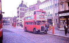 RT bus at Stratford Broadway 1965