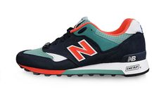 NEW BALANCE M577NBS 'SEASIDE PACK' (NAVY, GREEN & ORANGE)
