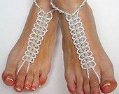 Handcrafted Barefoot Sandals and Other Beaded por BareSandals