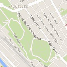 Madrid Aparcamiento - Plazas de parking, aparcamientos en la calle, parquings, garajes privados - Parkopedia