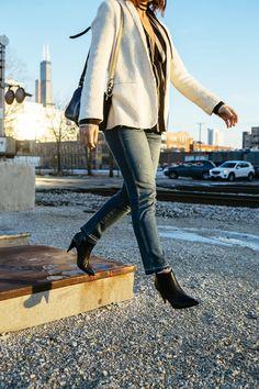 AMO denim + Pierre Hardy boots (via chicityfashion.com)