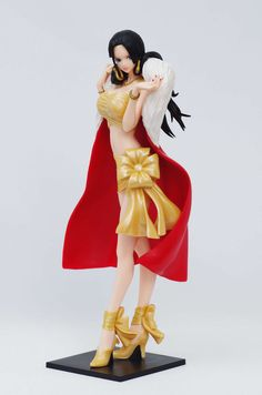 23cm Anime One Piece Boa Hancock Flag Diamond Ship Pvc Figure Collectible Model Toy 16 Aesthetic Appearance Action & Toy Figures