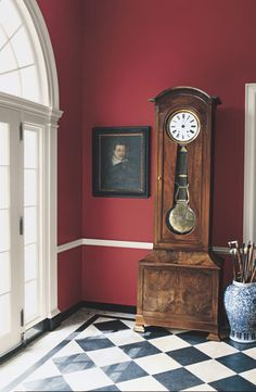 Ralph Lauren Paint's Hunting Coat Red is a rich color for traditional decor