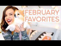 February Favorites 2017! (Also, I got a dog!!)   Ingrid Nilsen - YouTube