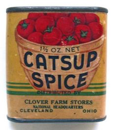 Ketchup?  Catsup?  Catsup Spice?  WANT.