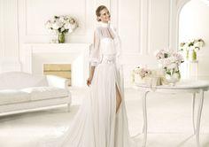 Pronovias presents the Valquiria wedding dress. Manuel Mota 2013. | Pronovias