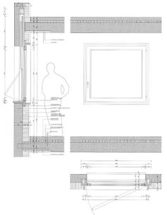 Source: iconeyePicture: Ruedi WaltiThe Villa Garbald in the Swiss Alps, a recently rediscovered masterpiece by Gottfried Semper, the century German architect and that Miller Maranta refu Window Detail, Villa, Building Systems, Detailed Drawings, Technical Drawing, Architecture Details, Switzerland, Townhouse, Extensions
