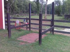 horse wash station | TWO CREEK FARMS