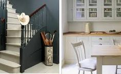 Articles about collection/shopping on Apartment Therapy, a lifestyle and interior design community with tips and expert advice on creating happy, healthy homes for everyone. Farrow Ball, Farrow And Ball Paint, Top Interior Designers, Best Interior Design, Stairs Colours, Masculine Room, Cottage Renovation, Studio Green, Country Kitchen