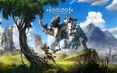 """Horizon Zero Dawn 4K 8K is a HD wallpaper posted in Games category. You can download Horizon Zero Dawn 4K 8K HD wallpaper in different resolutions for HD, desktop, Widescreen, notebook, tablet, Android Mobile, Apple iPhone Mobile and Apple iPad. On the off chance that you don't locate the correct determination you are searching for, go for """"Origional"""" or higher determination which may fits impeccable to your device."""