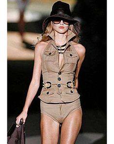 Safari Style Play Suit