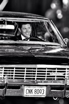 "Jensen Ackles ""Baby"" ~ Chevy Impala ~ ""The Car"" ~ Supernatural"