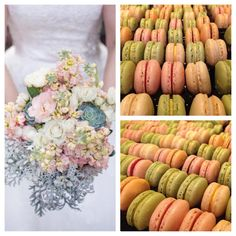 Weddings and macarons, a perfect combination