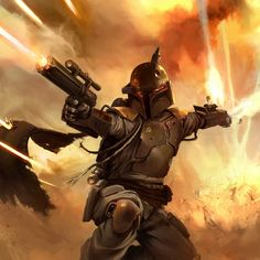 Amazing Boba Fett artwork...
