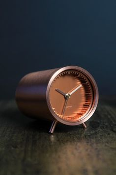 TubeClock Series - Piet Hein Eek for LEFF Amsterdam - Available in Brass, Steel or Copper