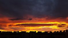 Ríos de lava en el cielo!!! #diariodeuninstagramer