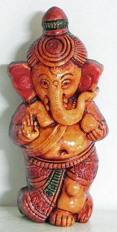 Baby Ganesha - Wall Hanging (Terracotta)