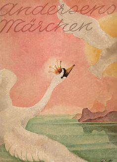 This is another cover of Hans Christian Andersen's. The word Marchen is the German term for tales.