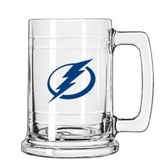 NHL Tampa Bay Lightning Tankard by Mustang. $7.88. This 15 ounce Tankard is ideal for the home bars or just having a beverage while watching your favorite sports. Decorated with your teams embossed emblem.