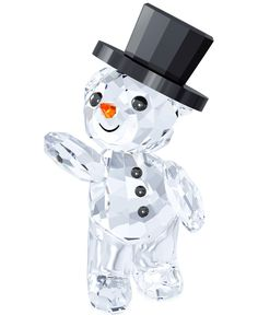 Swarovski 2015 Annual Holiday Kris Bear Figurine