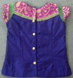 Rawsilk blouse with buttons 7702919644