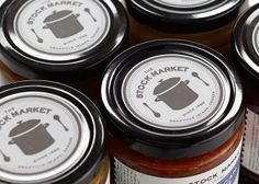 Stock Market Soup Shop on Packaging of the World - Creative Package Design Gallery