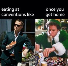 So, so true! Trying to stay awake after lunch and then when its over we get a big appetite! Jw Meme, Jw Jokes, Funny Jokes, Hilarious, Funny Shit, Jehovah's Witnesses Humor, Jw Humor, Christian Memes, I Love To Laugh