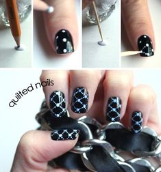 Syl and Sam: DIY Quilted Nails