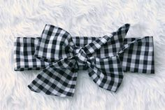 Black and white gingham baby toddler child by freshlyhatchedthread